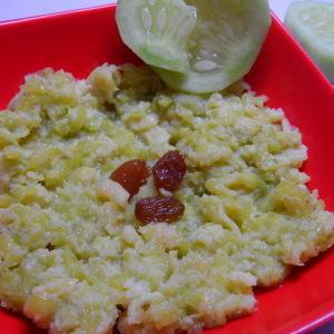 cucumber halwa photo