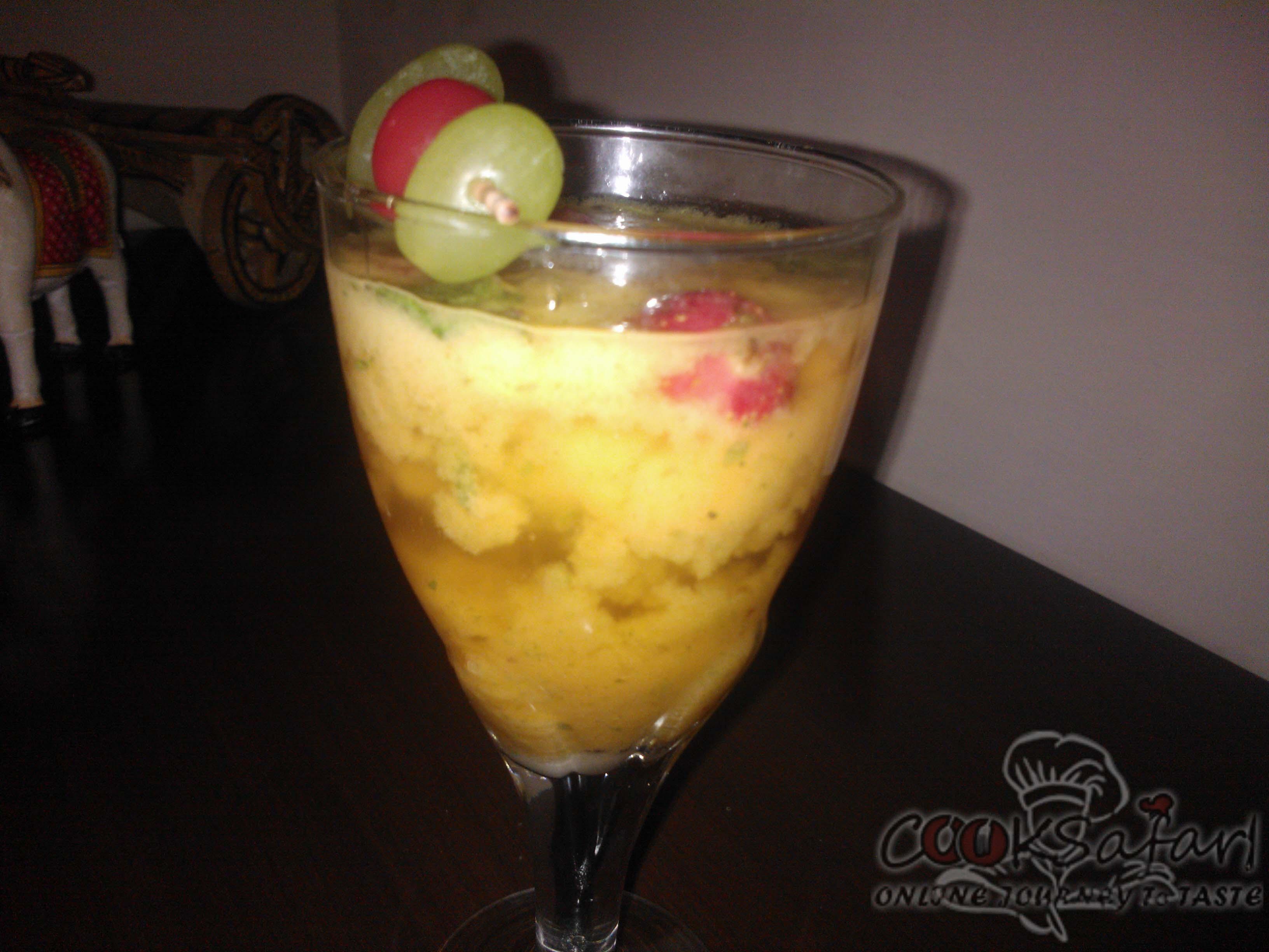 fruit & mint