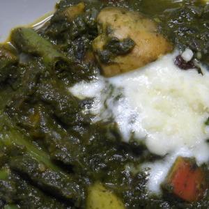 navratan spinach