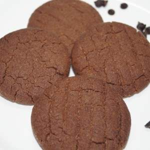 chocolate crisp cookies recipe
