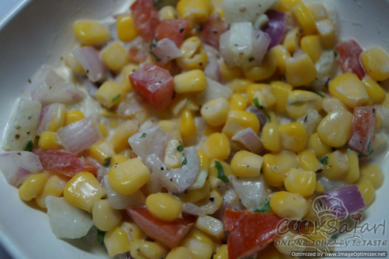 how to cook baby corn for salad